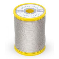 Cotton and Steel Thread 1329 Nickel Gray