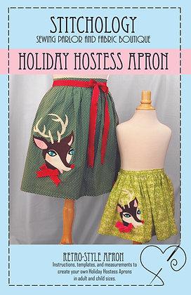 Holiday Hostess Apron Pattern