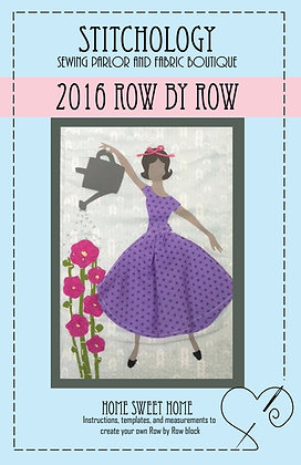 2016 Row by Row Pattern