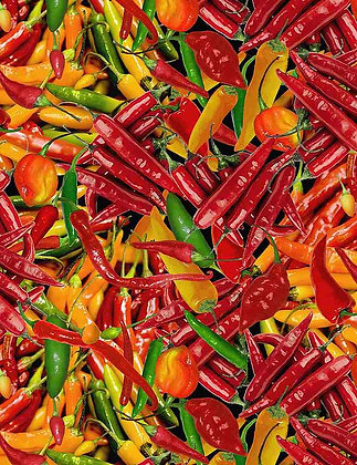 Packed Hot Peppers