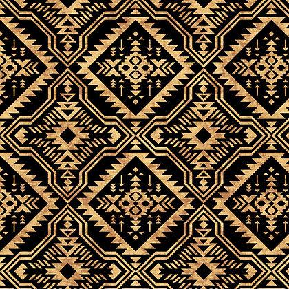 Southwest Reflections Blanket Black