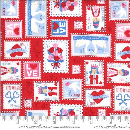 Be Mine Stamp Kisses