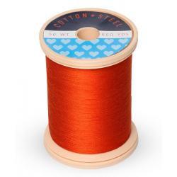 Cotton and Steel Thread 1246 Orange Flame