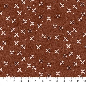 Harmony Rust X Linen/Cotton Canvas