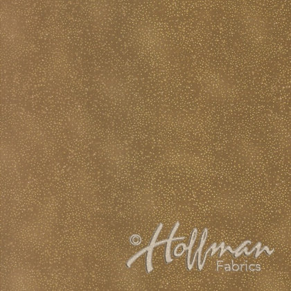 Hoffman Fabric Brilliant Blender in Caramel/Gold