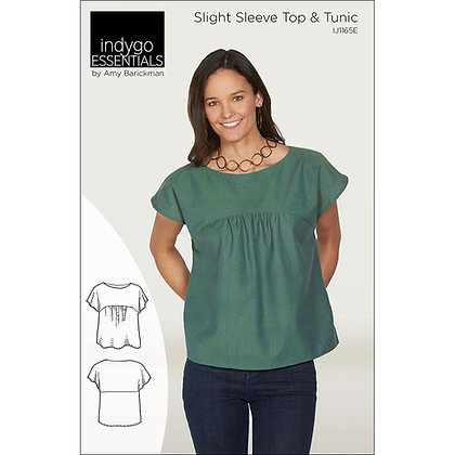Slight Sleeve Top and Tunic