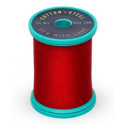 Cotton and Steel Thread 1039 True Red