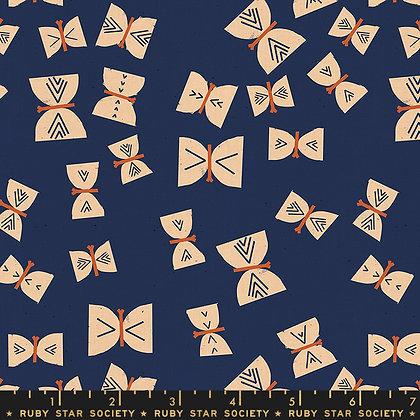 Alma Butterflies/Indigo SALE