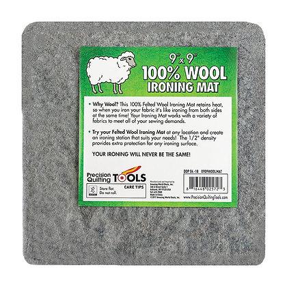 """9""""x9"""" 100% Wool Ironing Mat"""