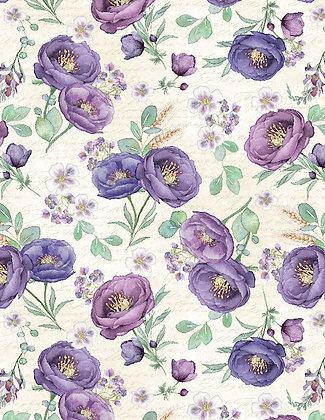 Violette Large Floral