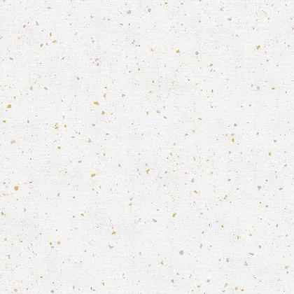 Rainbow Dust Double Gauze Terrazzo White