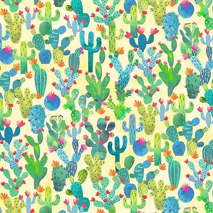 Michael Miller Cactus Garden