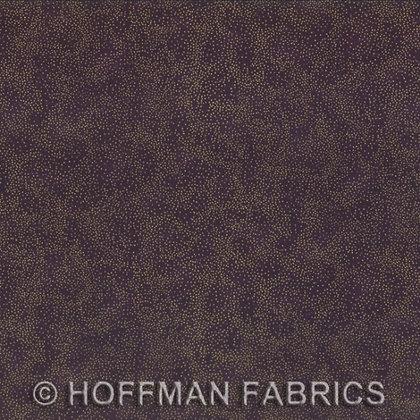 Hoffman Fabric Brilliant Blender in Plum/Gold