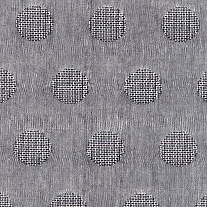 Yarn Dyed Jacquard Dark Gray Dot