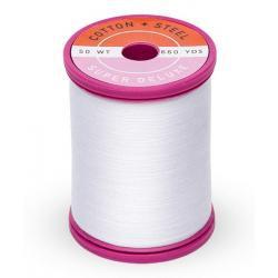 Cotton and Steel Thread 1001 Bright White