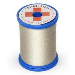 Cotton and Steel Thread 1321 Gray Khaki