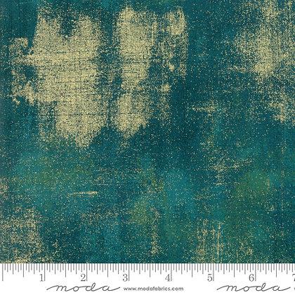 Grunge-Dark Jade Metallic