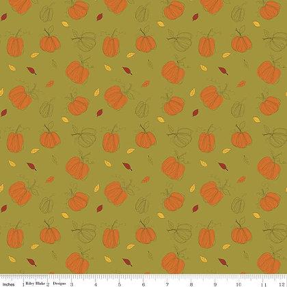Adel in Autumn Pumpkins Olive