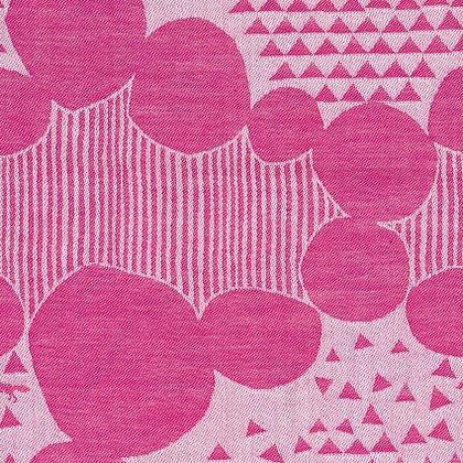 Echino Ekxa Jacquard Pink Dots