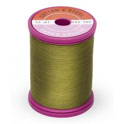 Cotton and Steel Thread 1156 Light Army Green