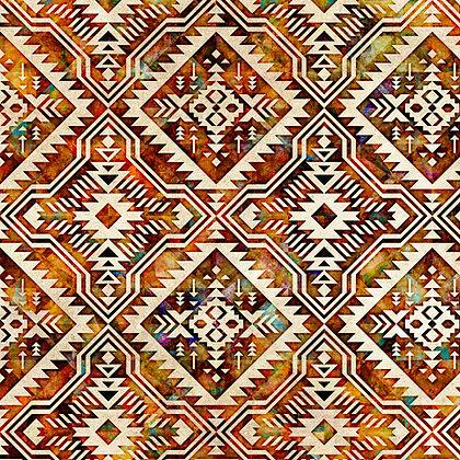 Southwest Reflections Blanket Cream
