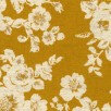 Yellow Floral Linen/Cotton Sheeting