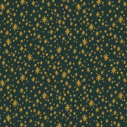 Holiday Classics Starry Night Evergreen Metallic