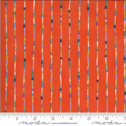 Lulu Stripe Clementine