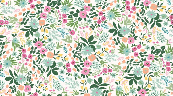 Dear Stella Tropical Floral Knit