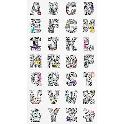 Lettered Alphabet Panel SALE