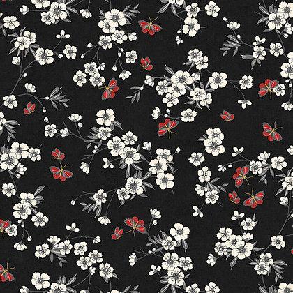 Cherry Blossoms/Black