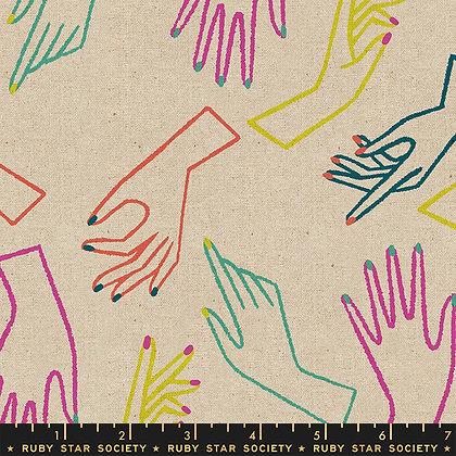 Adorn Hands Natural Linen/Cotton Canvas