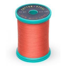 Cotton and Steel Thread 1020 Dark Peach