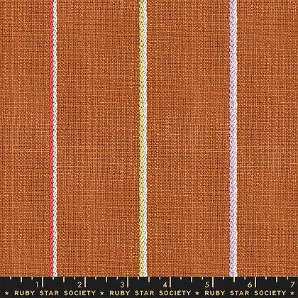 Warp Weft Heirloom Barkcloth Saddle Stripe