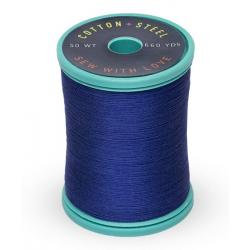 Cotton and Steel Thread 1293 Deep Nassau Blue