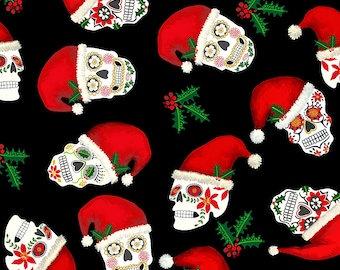 Holiday Skull MINKY
