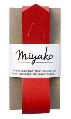 Miyako Handle Red