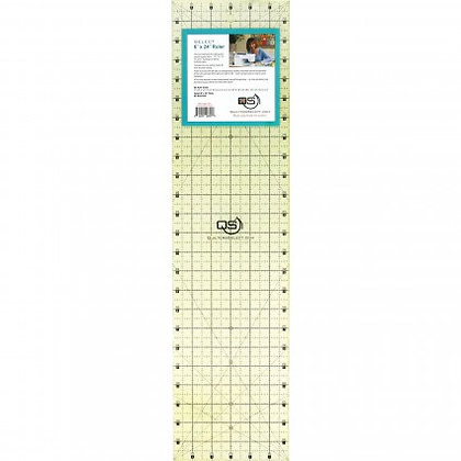 """Quilter's Select 6""""x 24"""" ruler"""