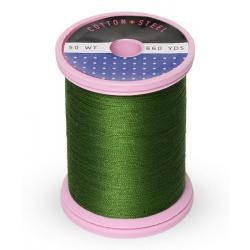 Cotton and Steel Thread 1176 Medium Dark Avocado