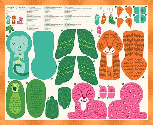 Jungle Paradise Stuffy Panel