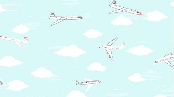 Jetsetter/Sky knit