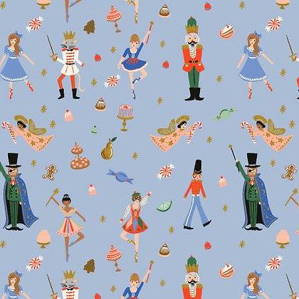 Holiday Classics Land of Sweets Powder Blue Metallic