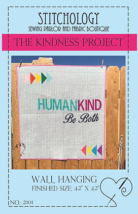 Kindness Quilt Pattern Printed