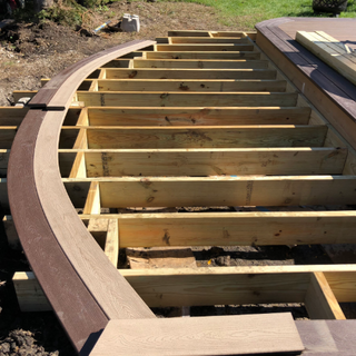 Phase 2 curved deck addition - coming so
