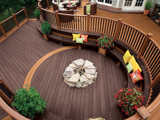 4 Tips on Selecting a TrexPro for your Curved Deck Project