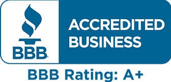 Better Business Bureau, Accredited Business, A+ Rating