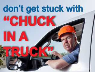 "Tips on Avoiding Scam Contractors.. Skip ""Chuck in a Truck"""