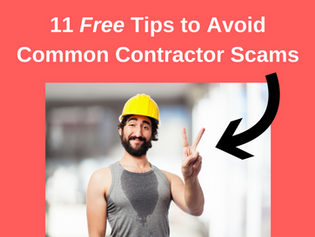 11 Tips to Avoid Common Contractor Scams