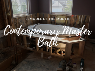 Remodel of the Month: Contemporary Master Bathroom