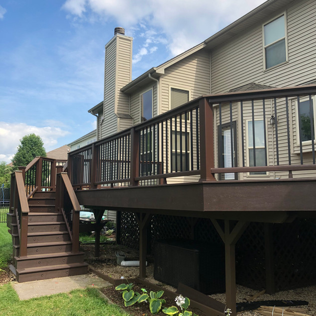 Raised Deck Oswego